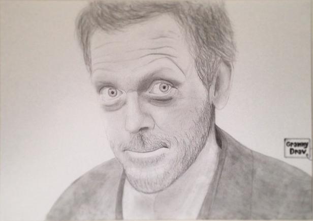 Hugh Laurie par Reugram